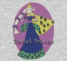 Peacock Princess One Piece - Short Sleeve