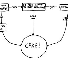 CAKE flow chart by mariatorg