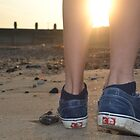 vans in the sunset by milanhyde