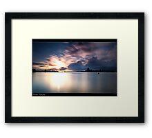 Forster Tuncurry Lake Framed Print