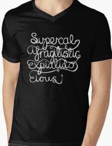 Supercalifragilisticexpialidocious Mens V-Neck T-Shirt