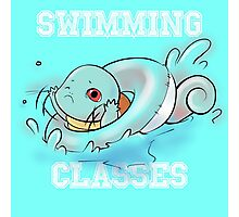 Swimming classes Photographic Print