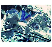 Steine wie Eis - Stones like ice Photographic Print
