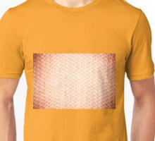 Sepia fluffy knitted fabric texture Unisex T-Shirt