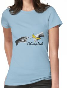 Chimpink - The Touch Womens Fitted T-Shirt