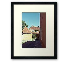 Old Town, Toompea Framed Print