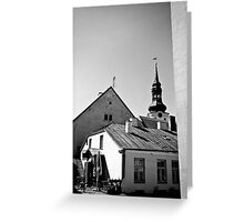 Old Town, Toompea Greeting Card
