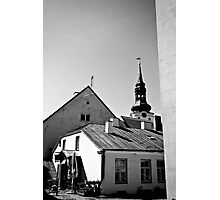 Old Town, Toompea Photographic Print