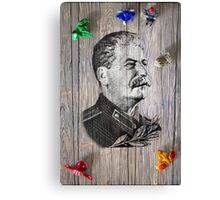 Portrait Of Joseph Stalin Canvas Print