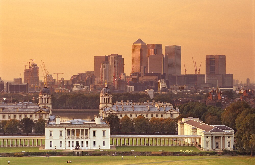 Maritime Greenwich and the Isle of Dogs by Kasia Nowak
