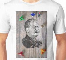 Portrait Of Joseph Stalin Unisex T-Shirt