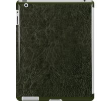 Green porous leather sheet texture iPad Case/Skin