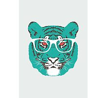 Bookish Big Cat Photographic Print