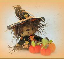 Eenie the Witchy Bear - Handmade bears from Teddy Bear Orphans by Penny Bonser
