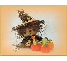 Eenie the Witchy Bear - Handmade bears from Teddy Bear Orphans Photographic Print