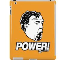 Top Gear - Jeremy Clarkson POWER!! iPad Case/Skin