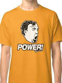 Top Gear - Jeremy Clarkson POWER!! Classic T-Shirt