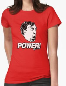 Top Gear - Jeremy Clarkson POWER!! Womens Fitted T-Shirt