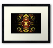Abstract Splits Framed Print