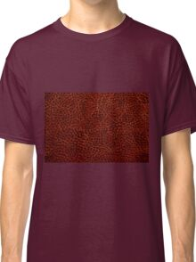 Rusty leather background textured  Classic T-Shirt