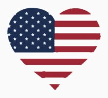 USA Heart by Nick Martin