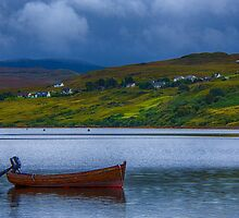 Carbost Loch Harport by Chris Thaxter