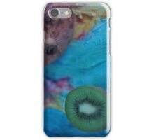 pomegranate and kiwi iPhone Case/Skin