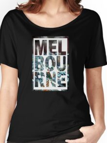 Melbourne (Alternative Version) Women's Relaxed Fit T-Shirt