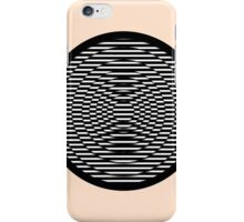 Simple Modern Stripes Circular Print iPhone Case/Skin