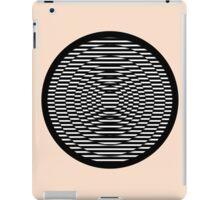 Simple Modern Stripes Circular Print iPad Case/Skin