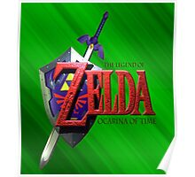 Legend Of Zelda Ocarina Of Time Poster