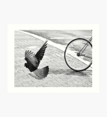 Bike or Flight Art Print