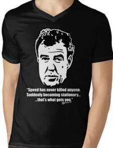 Jeremy Clarkson - SPEED Mens V-Neck T-Shirt