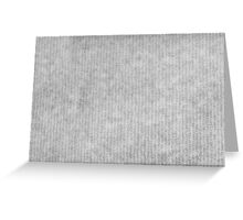 Grey striped parchment texture abstract Greeting Card
