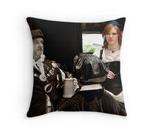 Renaissance Winch Throw Pillow