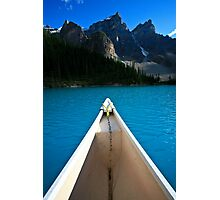 View from my Canoe Photographic Print