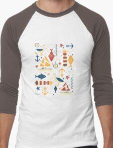 All At Sea Men's Baseball ¾ T-Shirt