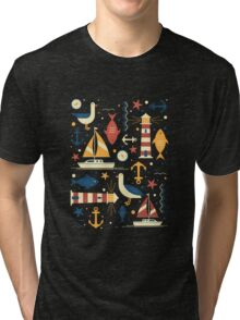 All At Sea Tri-blend T-Shirt