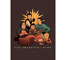 The Breakfast Gang Photographic Print