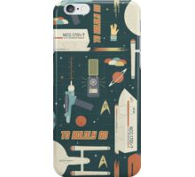 To Boldly Go... iPhone Case/Skin