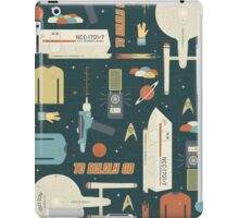 To Boldly Go... iPad Case/Skin