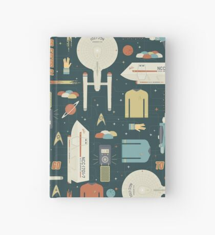 To Boldly Go... Hardcover Journal