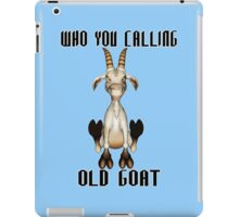 The Old Goat  iPad Case/Skin