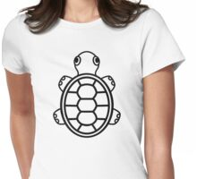 Baby Turtle v1.1 Womens Fitted T-Shirt
