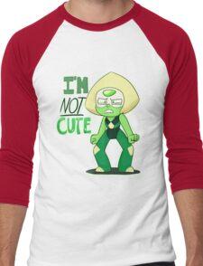 I'M NOT CUTE Men's Baseball ¾ T-Shirt