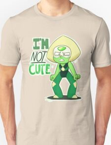 I'M NOT CUTE Unisex T-Shirt