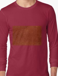 Rusty fibrous texture material  Long Sleeve T-Shirt