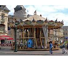 Jules Verne Merry Go Round Photographic Print