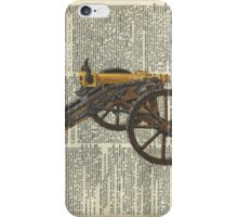 Old canon Dictionary Art iPhone Case/Skin