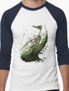 Death Penguin Men's Baseball ¾ T-Shirt